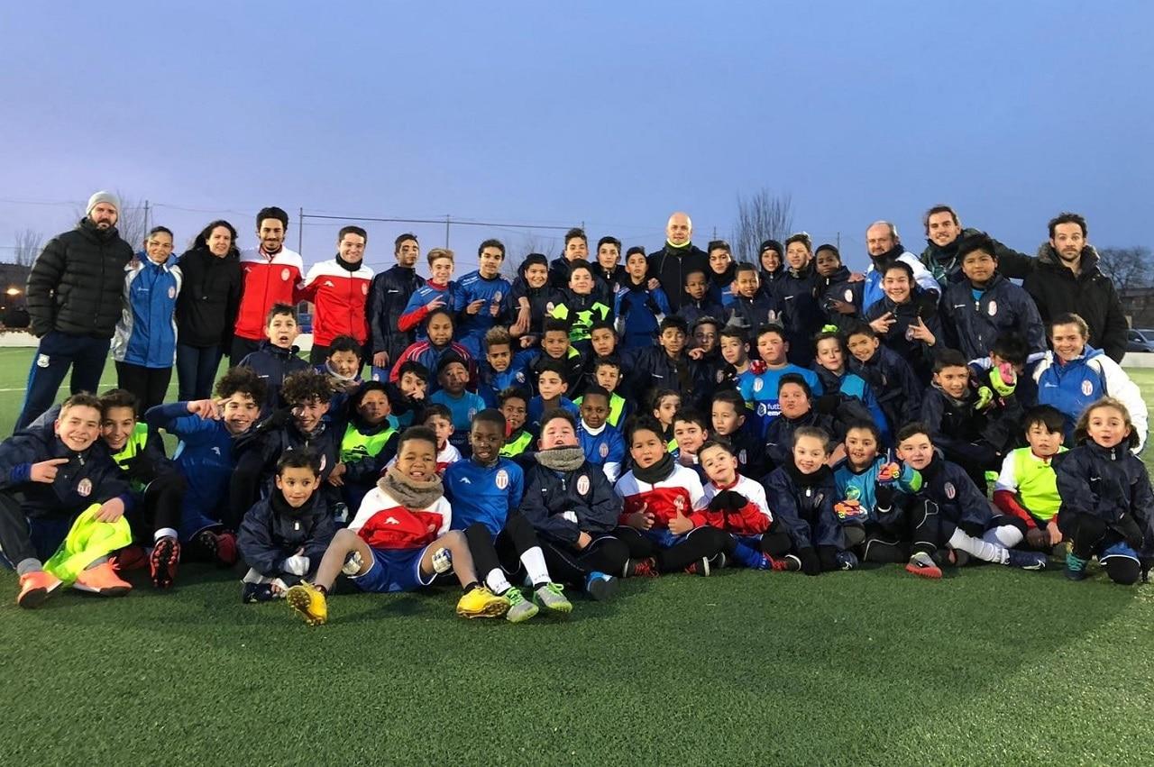 Casvi Football Academy y Gate of Football unen sus caminos solidarios