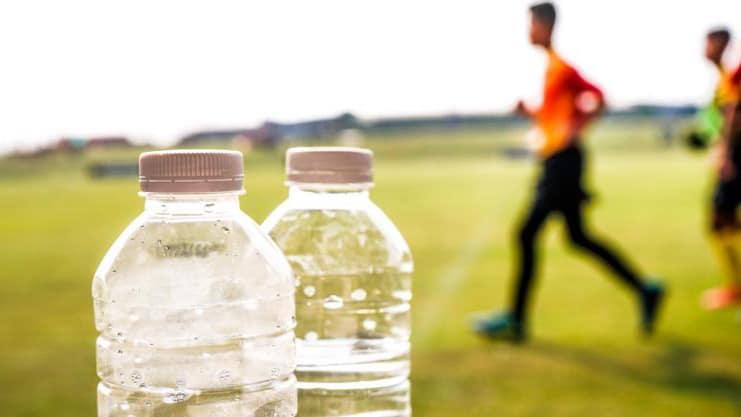 Hidratación en el futbolista