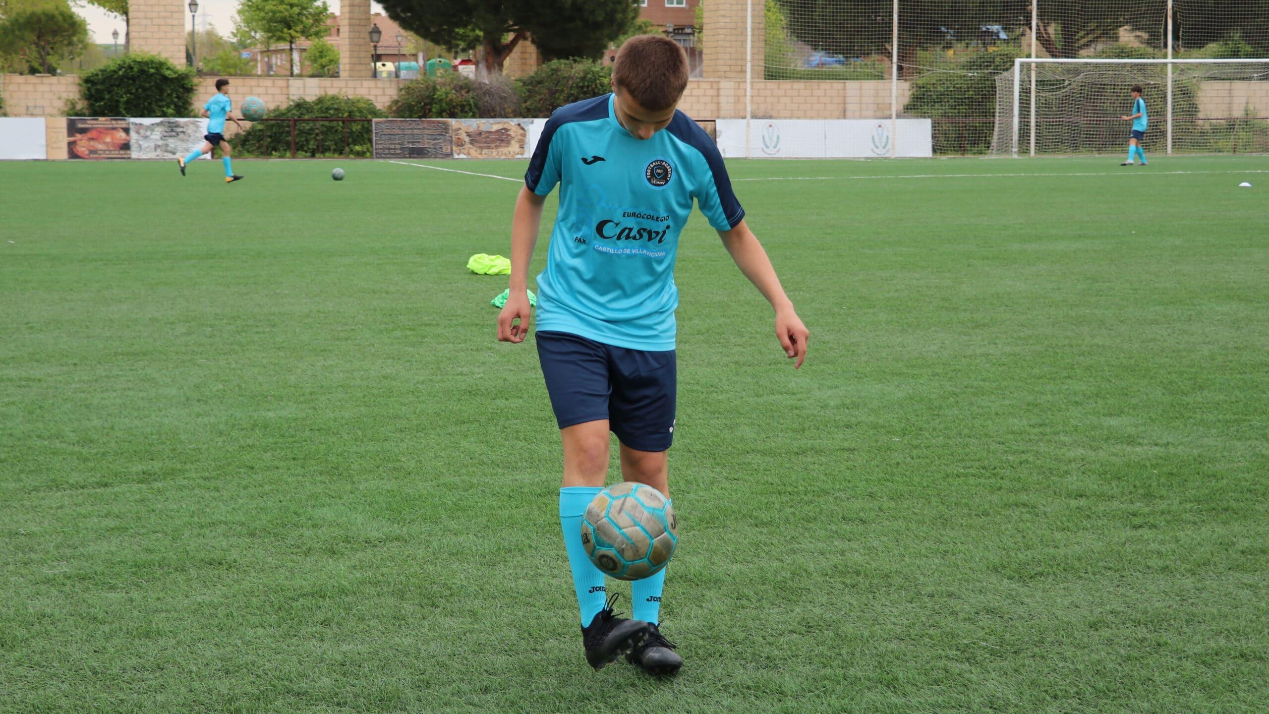 Fomento de la inteligencia emocional en Casvi Football Academy