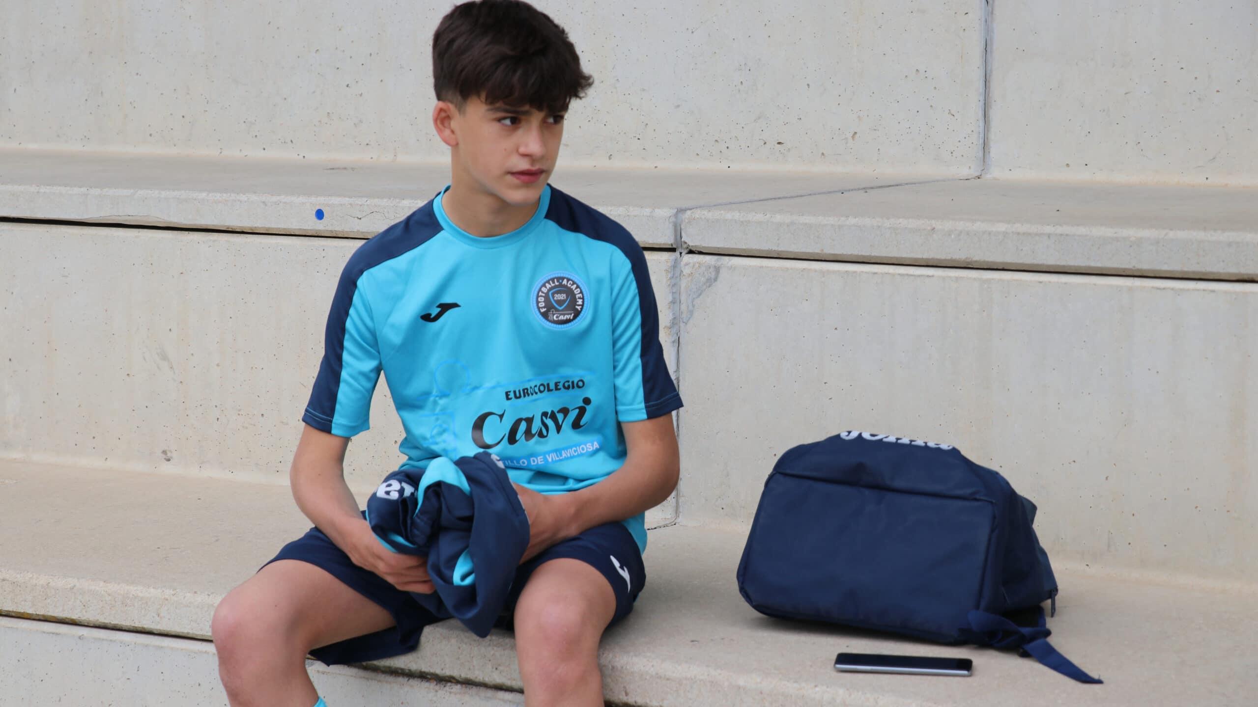Alumno de Casvi Football Academy