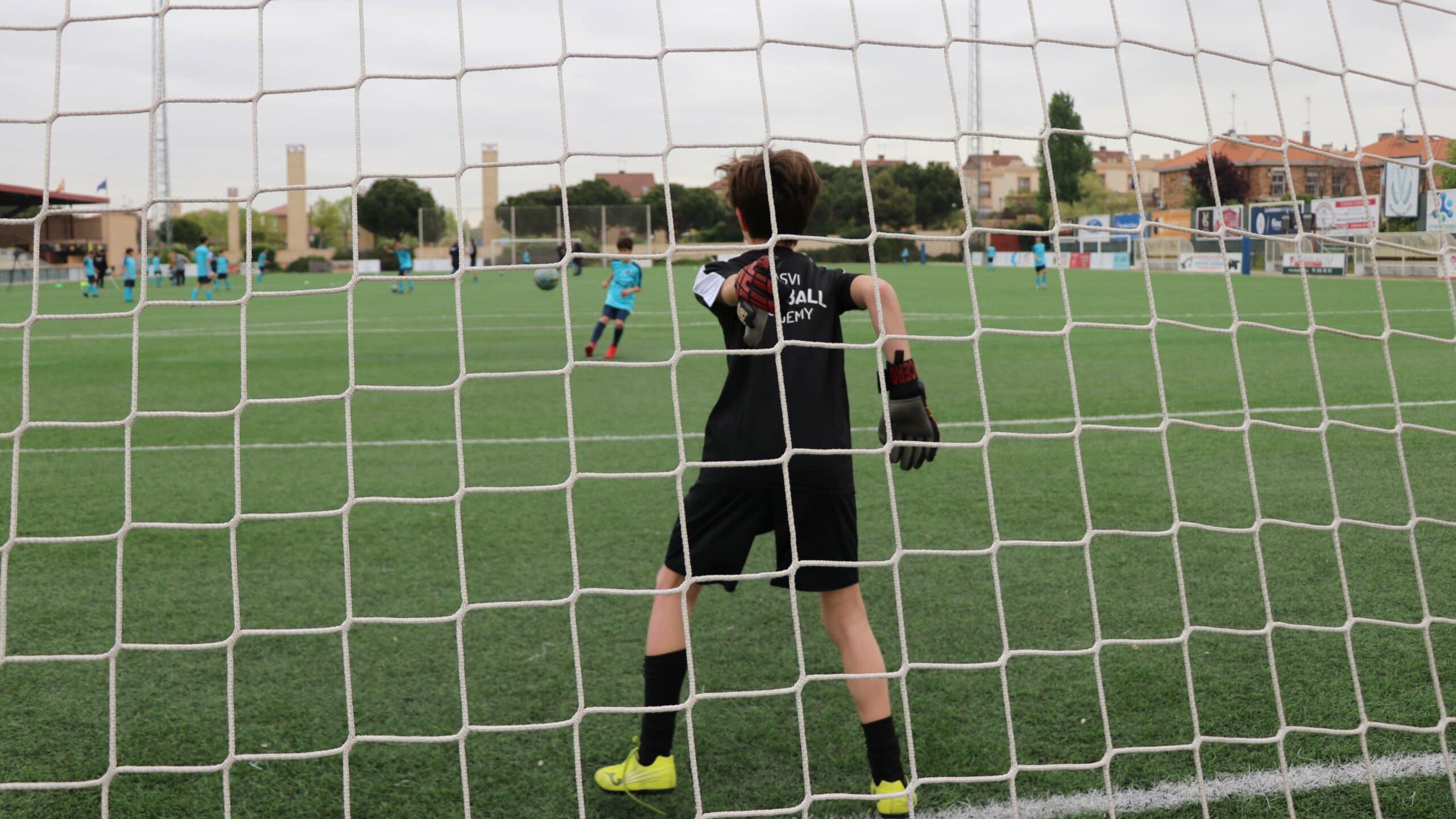 Alumnos con talento de Casvi Football Academy